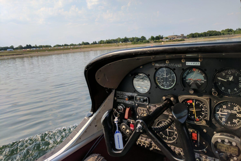 Cockpit of the G-VWET Lake Buccaneer LA4